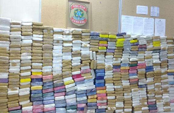 PF desmantela tráfico internacional de drogas em Itajaí - SC