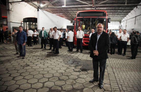Itajaí pode enfrentar nova paralisação do transporte coletivo