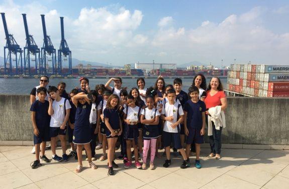 Itajaí: Projeto Escola no Porto supera as expectativas em relação ao ano anterior