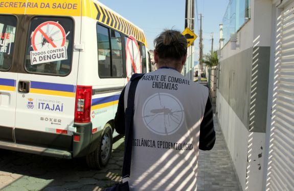 Itajaí reduz casos de dengue em 2017