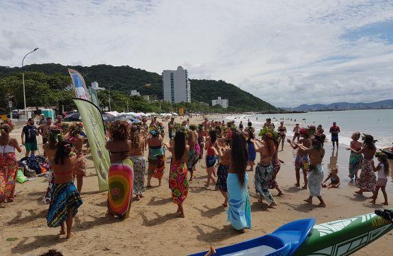 Itajaí: Row To Win Water começa nesta sexta-feira (17) na Praia de Cabeçudas
