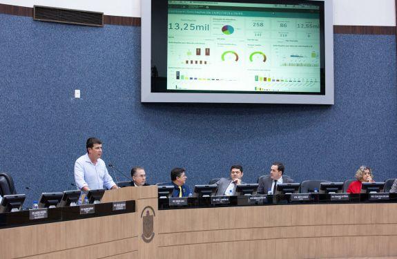 Itajaí: Secretaria de Obras apresenta ferramenta de controle de serviços na Câmara