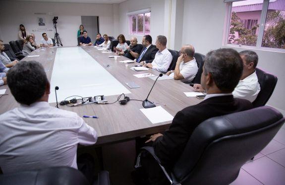 Itajaí: Secretário de Segurança tira dúvidas dos vereadores...