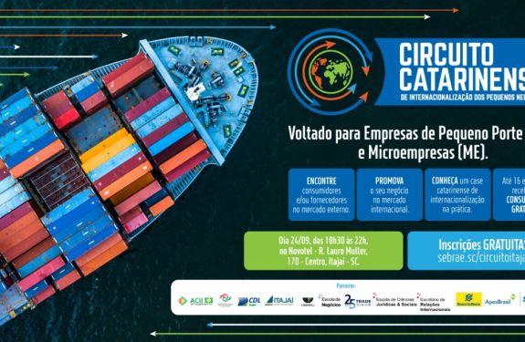 Itajaí: Circuito de Internacionalização dos Pequenos Negócios