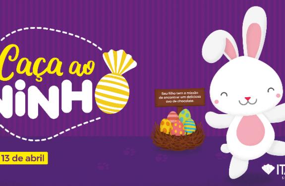 Itajaí Shopping promove 3º edição do Caça ao Ninho