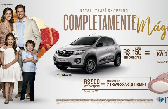 Itajaí Shopping vai sortear um carro