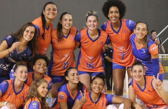 Itajaí Vôlei enfrenta Sport Clube do Recife nesta quarta-feira..