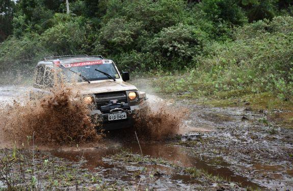 Itajaienses conquistaram o terceiro lugar na segunda etapa do Catarinense de Rally Regularidade