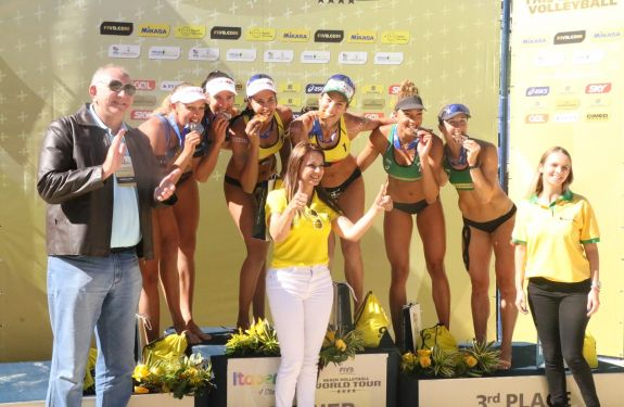 Circuito Mundial de Vôlei de Praia termina com vitória do Brasil