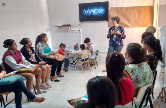 Itapema: CRAS realiza oficinas com usuários