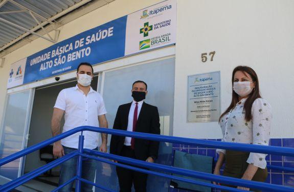 Itapema: Prefeita Nilza Simas entrega Unidade Básica de Saúde (UBS) do Bairro Alto São Bento