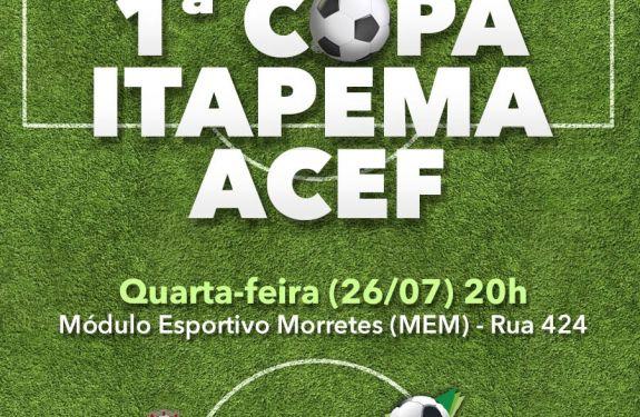 Itapema vai sediar copa das escolinhas de futebol
