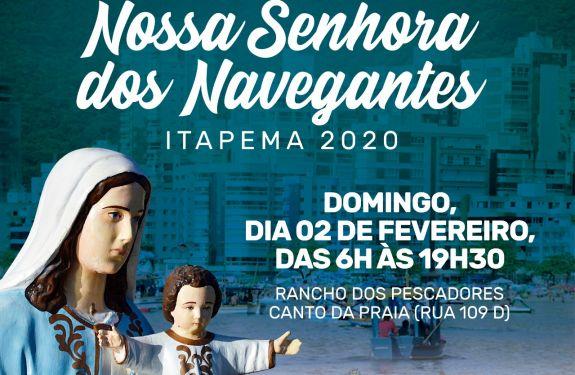 Itapema: Vem aí a Festa em honra a Nossa Senhora dos Navegantes