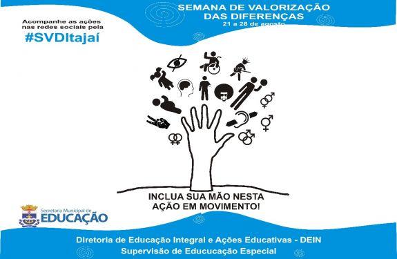 ITJ: Semana de Valorização das Diferenças começa na segunda (21)