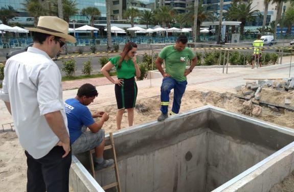 Lixeiras subterrâneas são instaladas na Orla de Itapema