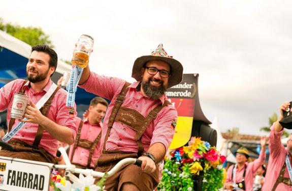 Mais de 40 mil visitantes já passaram pela Festa Pomerana