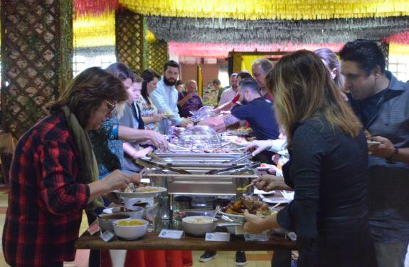 Mais de 5 mil pratos e 20 mil litros de chope já foram consumidos na 32ª Fenarreco