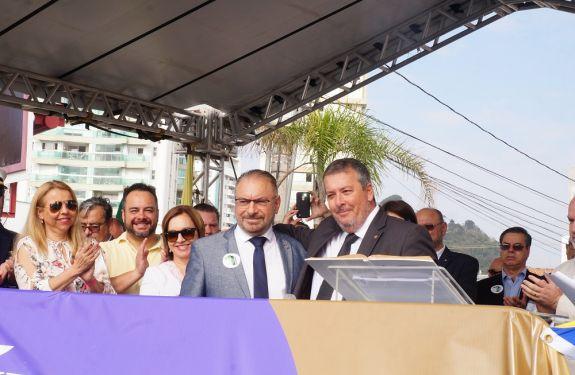 Marcelo Sodré assume como Prefeito em exercício de Itajaí