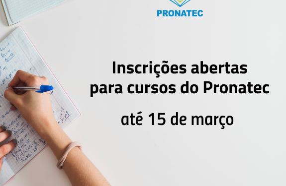 Moradores de Camboriú podem se inscrever em cursos gratuitos pelo Pronatec