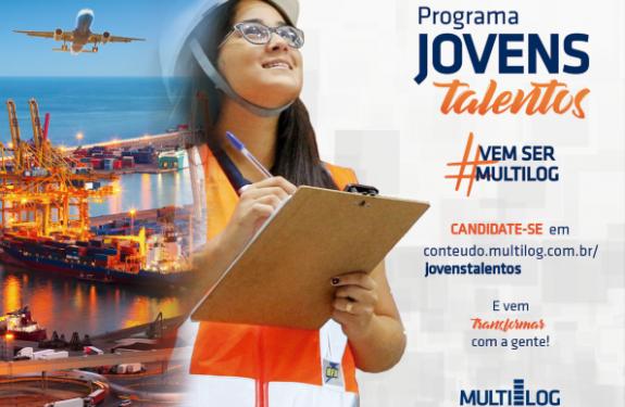 Multilog abre novas vagas para programa de Jovens Talentos