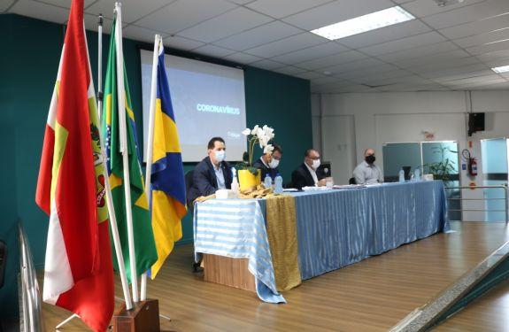 Município de Itajaí debate medidas de prevenção ao coronavírus com a sociedade civil