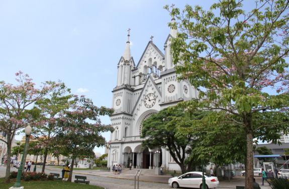 Município de Itajaí inicia a revitalização da Igreja Matriz