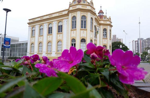 Município de Itajaí planta 85 mil mudas de flores para a entrada do inverno