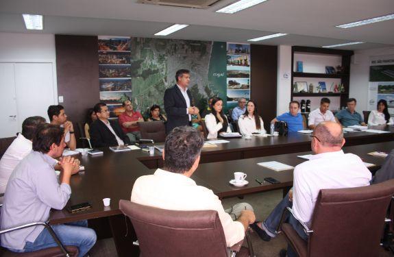Município de Itajaí recebe missão internacional do Fonplata