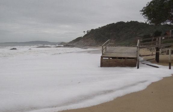 Nível do mar pode subir em Balneário Camboriú neste final de semana
