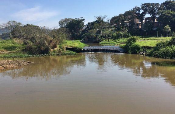 Nível do Rio Camboriú está crítico