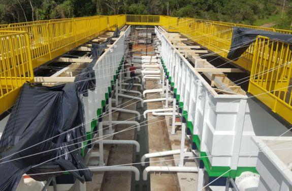 Novo sistema de abastecimento de Bombinhas tem 80% das obras concluídas