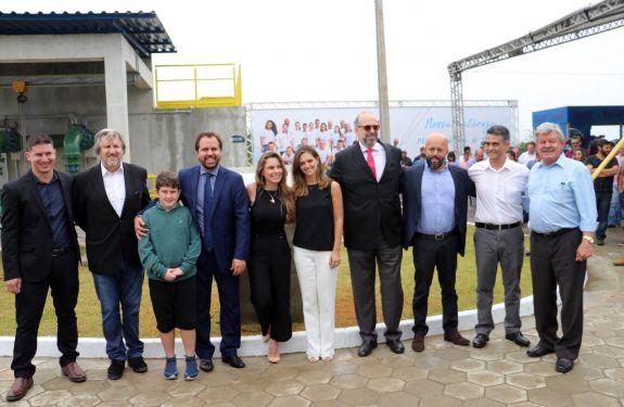 Novo sistema de abastecimento é inaugurado pela Águas de Bombinhas