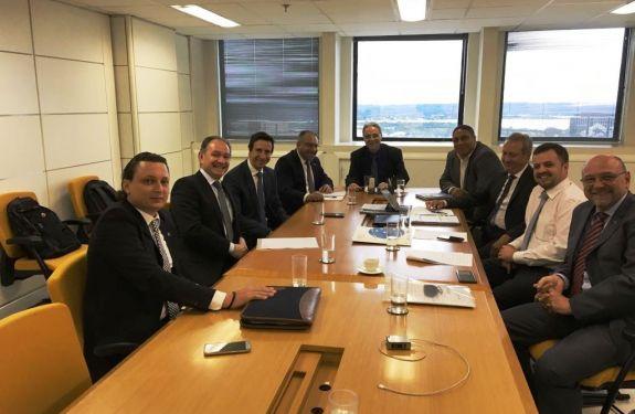 Novos investimentos no Porto de Itajaí são discutidos em Brasília