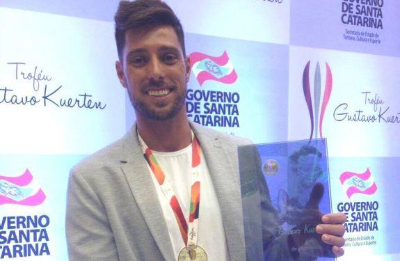 O melhor atleta de Santa Catarina é itapemense