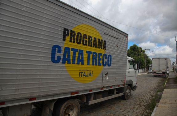 Obras de Itajaí divulga agenda do Cata Treco para próxima semana