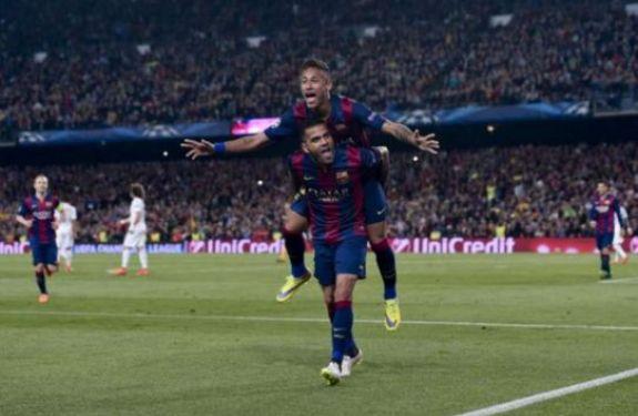 Onda Neymar: veja números de brasileiros goleadores do Barça