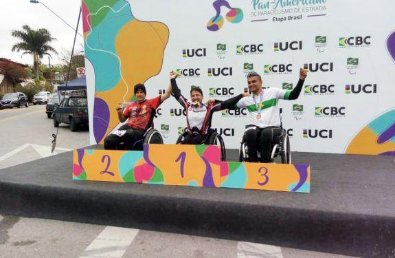 Camboriú: Paratleta fatura medalhas em Circuito Pan-Americano