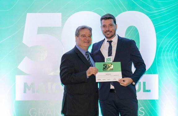 Pela quarta vez, Multilog é consagrada uma das 500 maiores empresas do Sul