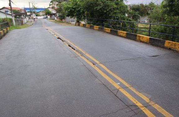 Ponte Augusto Bráulio Werner será interrompida para reparos