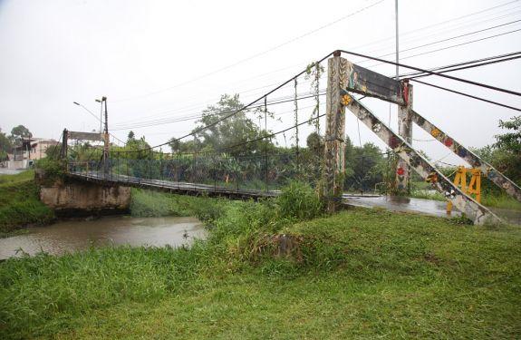 Ponte Pênsil de Itajaí será interditada para reparos