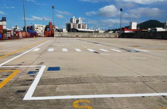 Porto de Itajaí investe em melhorias de infraestrutura.