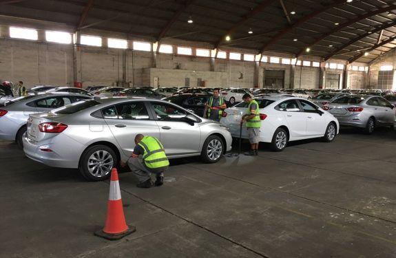 Itajaí: Porto recebe 16ª atracação da montadora General Motors