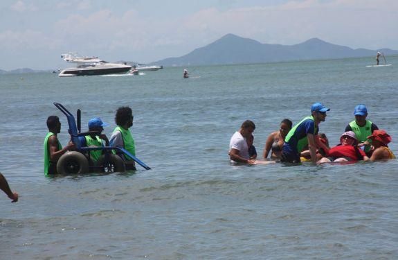 Praia Acessível 2018 inicia atividades no dia 08 de janeiro