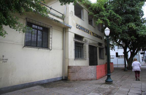 Prédio dos Correios pode virar centro cultural em Itajaí