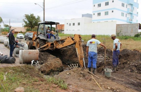 Prefeitura de Bal. Piçarras inicia obras de drenagem pluvial