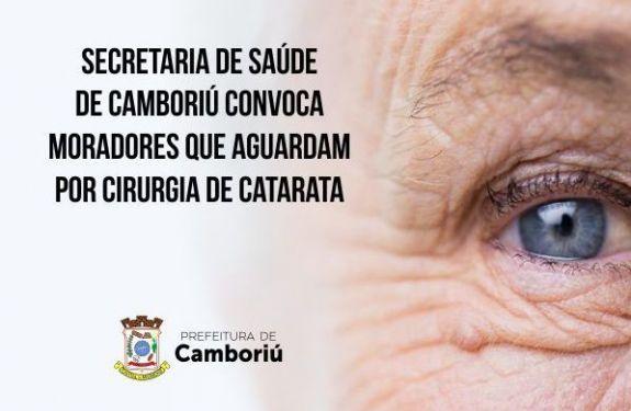 Prefeitura de Camboriú e Governo do Estado promovem mutirão de cirurgias de catarata