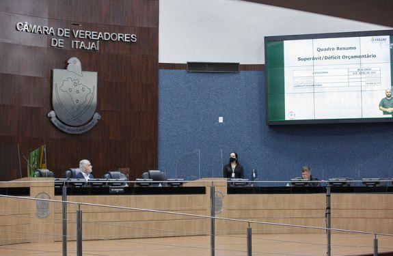 Prefeitura de Itajaí apresenta contas...