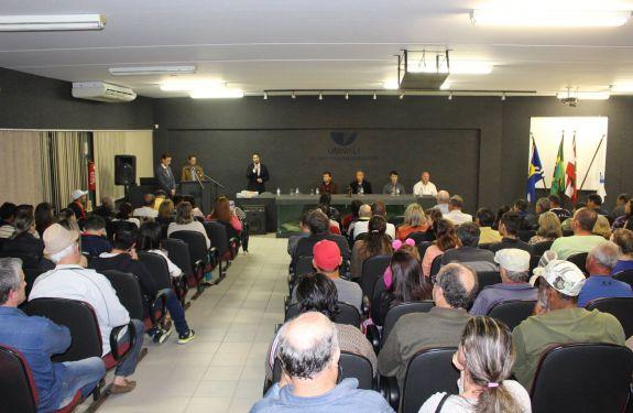 Piçarras: regularização fundiária a 95 famílias na próxima sexta