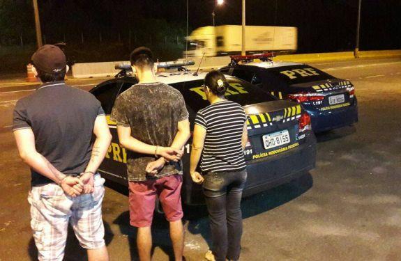 PRF prende trio que tentou matar homem no Bairro da Barra