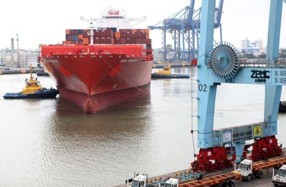 Profundidades de navegação do Porto de Itajaí registram medições históricas.